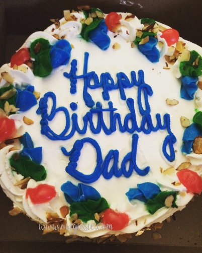 dad cake ourgussie